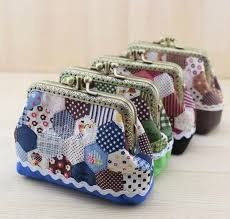 Resultado de imagen de bolsa patchwork de jardin de la abuela