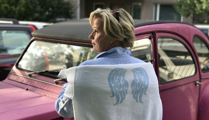 Get your own angel wings.