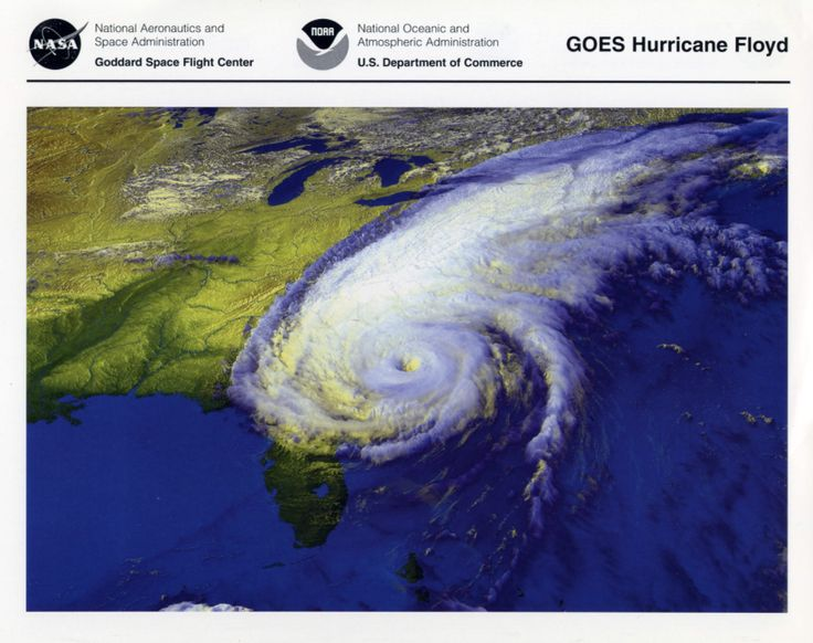 GOES Hurricane Floyd