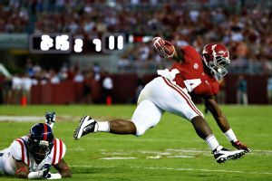 Bama goes old school in blanking Rebels  Win #4 in the books with a 25-0 SHUT 'EM OUT & SHUT 'EM UP victory over Ole Miss.