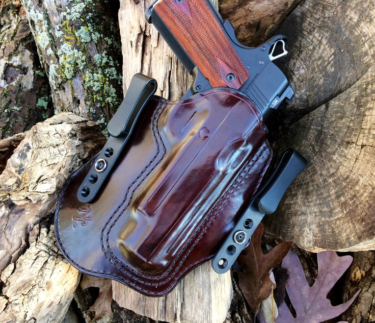 Nightingale Leather 1911 Kingfisher IWB Cordovan Horse Hide