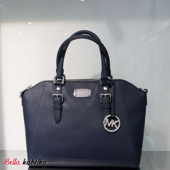 Kabelka Michael Kors - Ciara LG satchel, navy