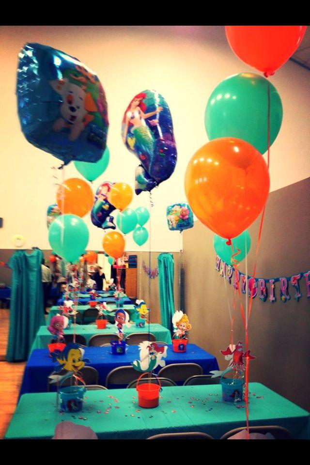 17 best images about bubble guppies on pinterest blue orange bubble guppies centerpieces and - Bubble guppies party favors ideas ...