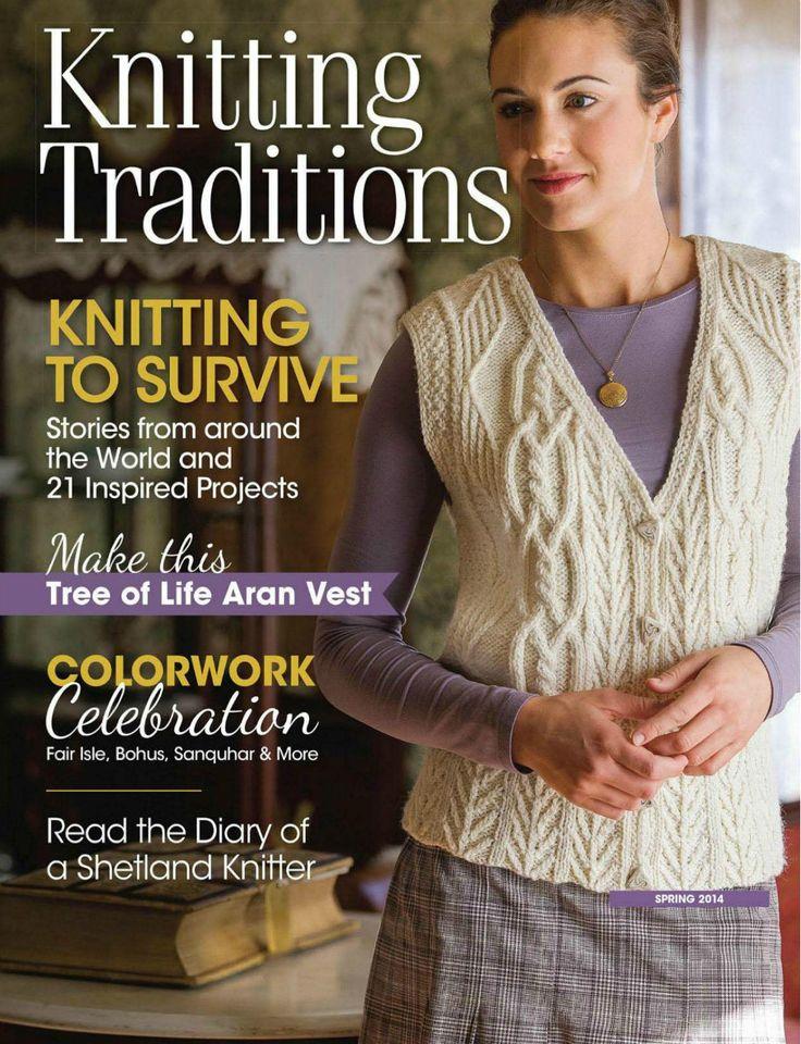 Knitting Traditions 2014 春 - 紫苏 - 紫苏的博客
