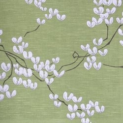 Sakura print (by Lorient) 50% linen 50% cotton - for my bedroom curtains?