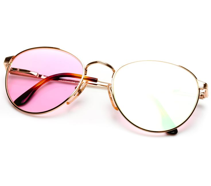 VF by Vintage Frames Miami Vice Wave (Pink Multi Flash Flat Lens)