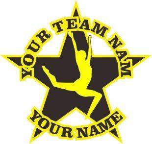 Customized Gymnastics Logo 07