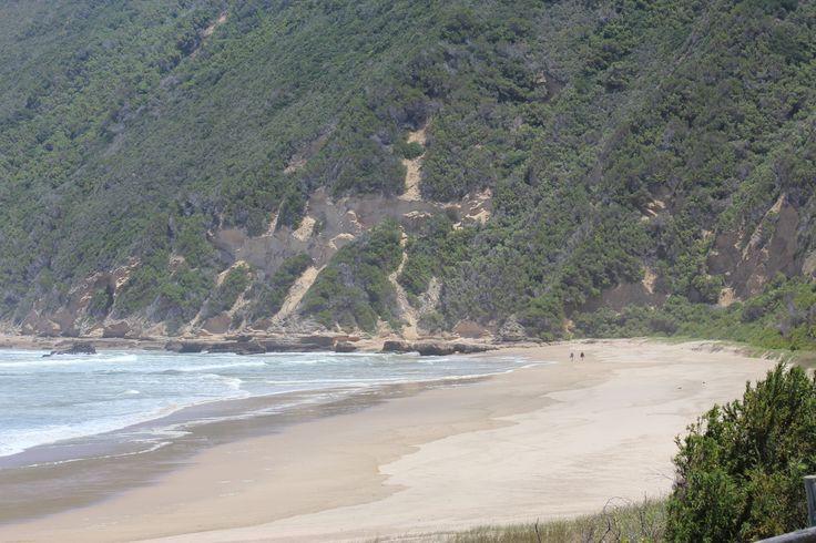 Noen bilder fra stranda i motsatt retning.
