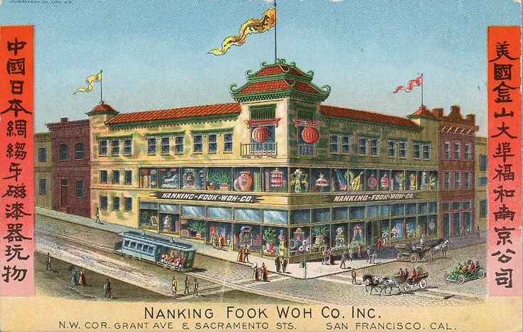 Chinatown postcard 1900