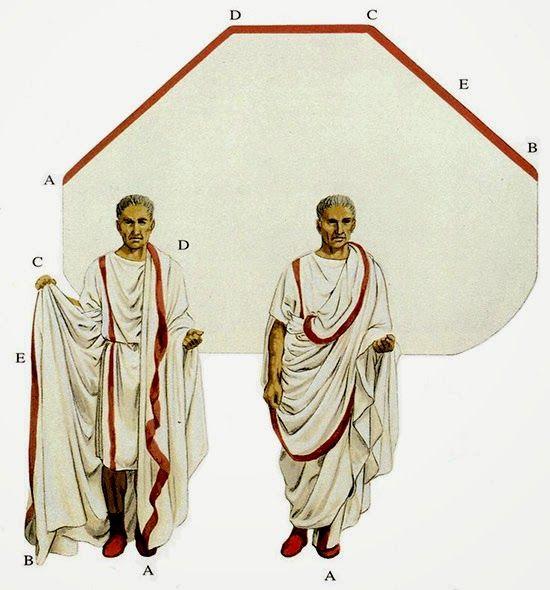 Romano Impero: L'ABBIGLIAMENTO ROMANO