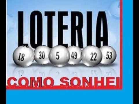 COMO SONHEI COM AS DEZENAS DA LOTERIA E GANHEI-I won the lottery - YouTube