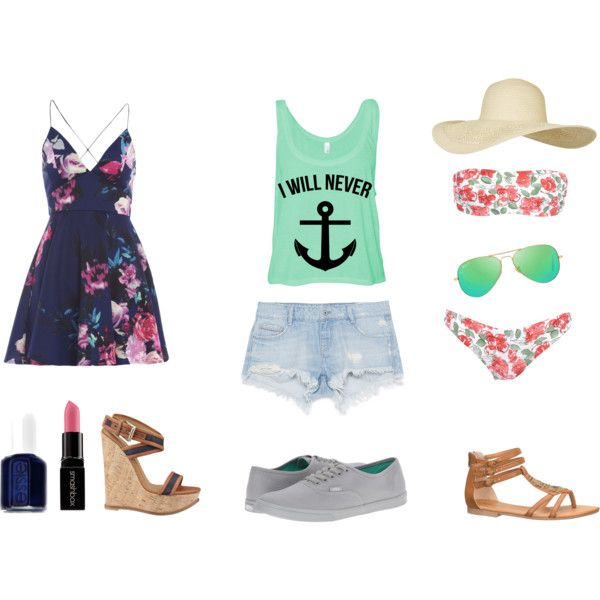CRUCERO ROYAL CARIBBEAN - ORLANDO by communitymanagertav on Polyvore featuring moda, AX Paris, George J. Love, Zara, Vans, Dsquared2, maurices, Topshop, Ray-Ban and Smashbox