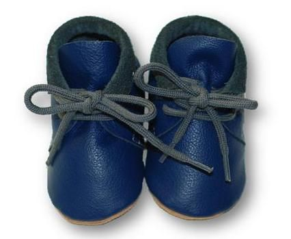 mokasynki GRANAT Leather Baby Shoes Moccassins Navy https://fiorino.eu/