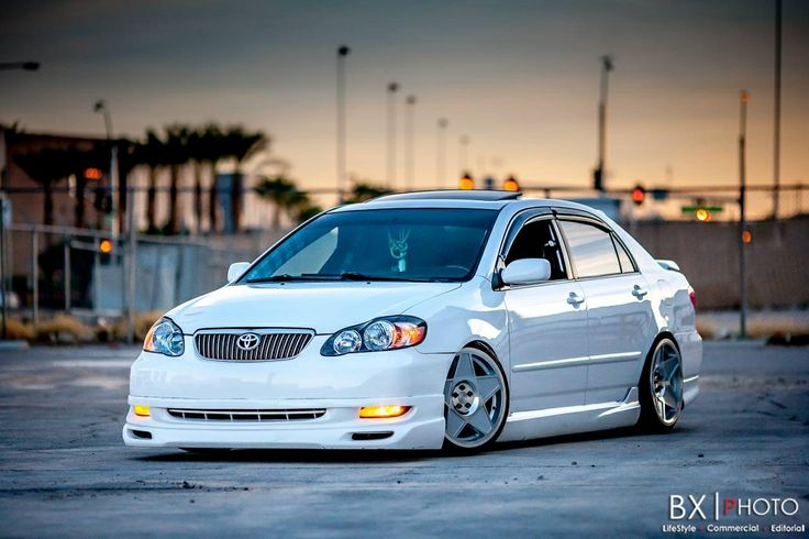 2005 Toyota Corolla Xrs >> Corolla, nicely modified, too bad Toyota doesn't offer a version of the Corolla with decen ...
