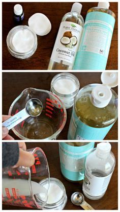 Homemade Makeup Remover Pads