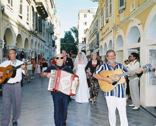 Weddings in Corfu, Civil, Catholic, Anglican, Orthodox ceremony, Ionian islands
