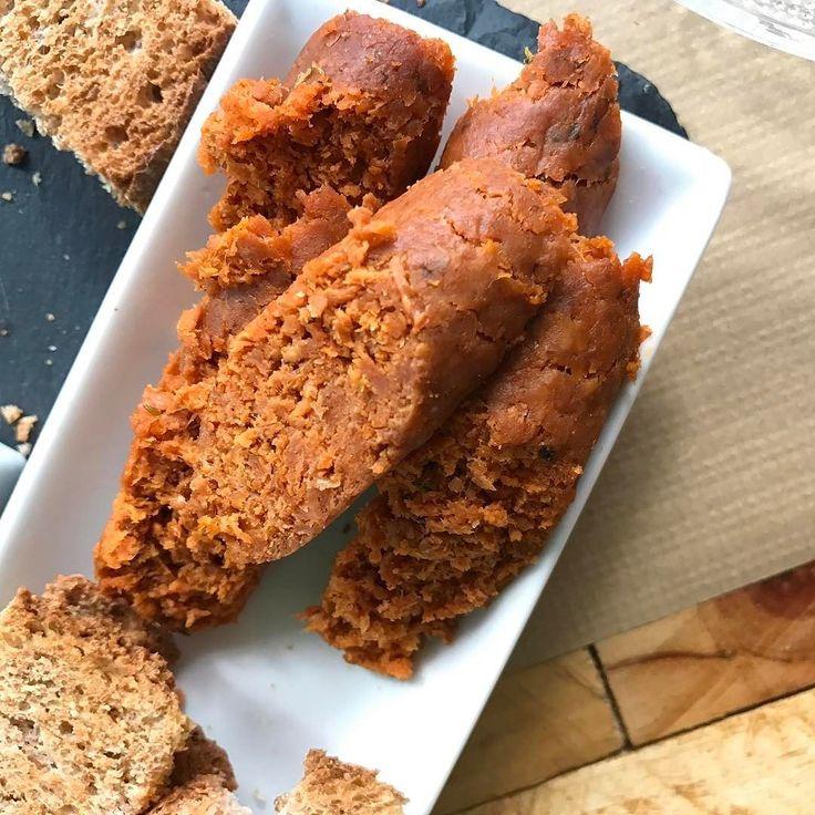 Chorizo picante vegano y sin gluten #gastronomia #food #veganfood