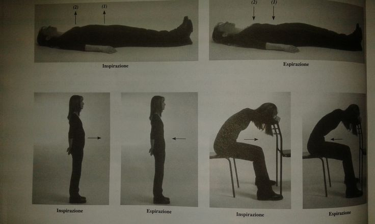 Esercizi di respirazione diaframmatica