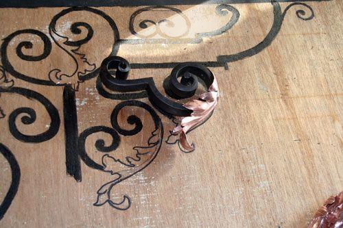 Puerta de hierro Diseño