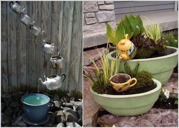 10 waterfall fountain ideas to adorn your garden - Waterfall Fountain