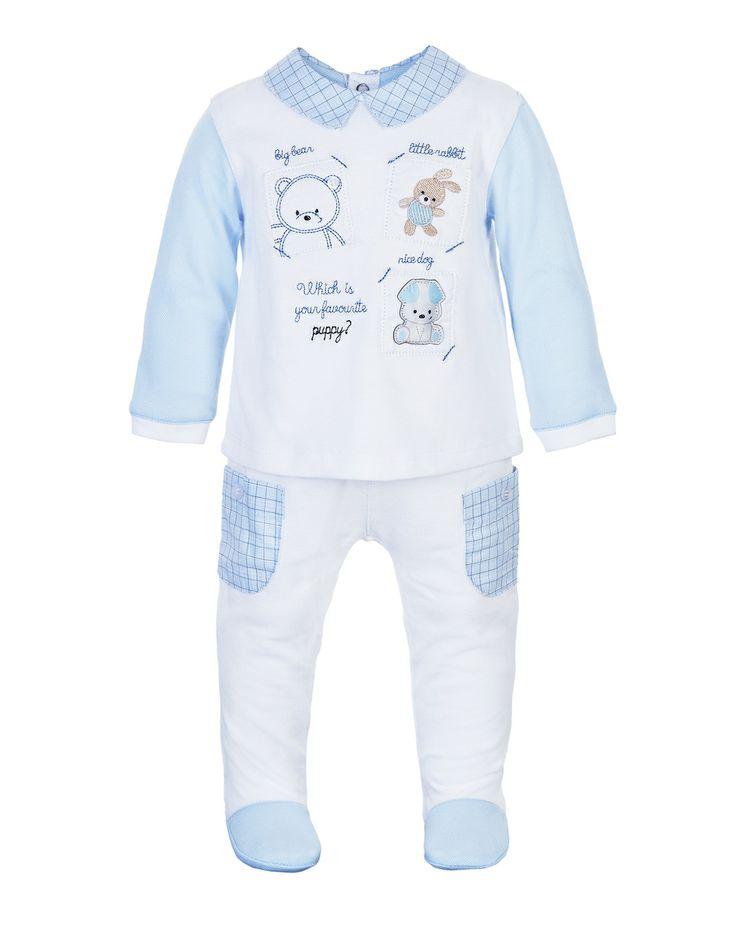 Prenatal - Moda Baby: abbigliamento da 0 ai 30 mesi per il tuo bambino, bimbo, bebè - Completi - Prenatal - Completo piquet per neonato