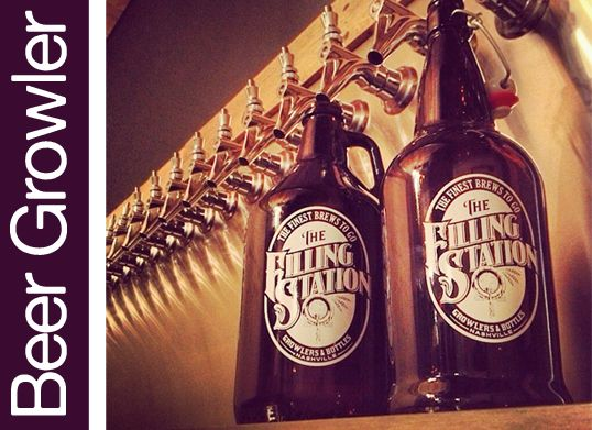 The Filling Station - Beer Growler