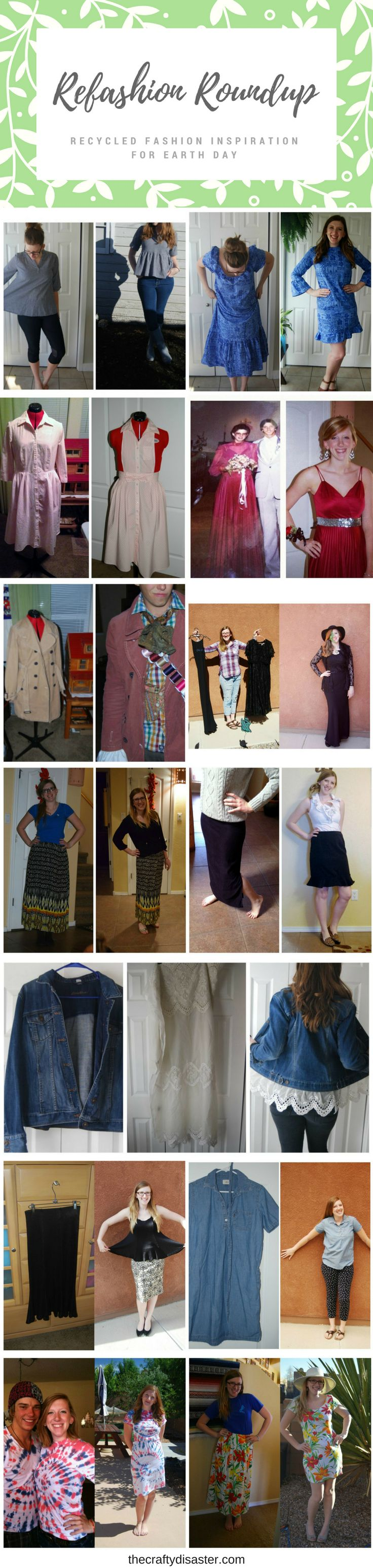 Earth Day: Refashion Roundup - The Crafty Disaster