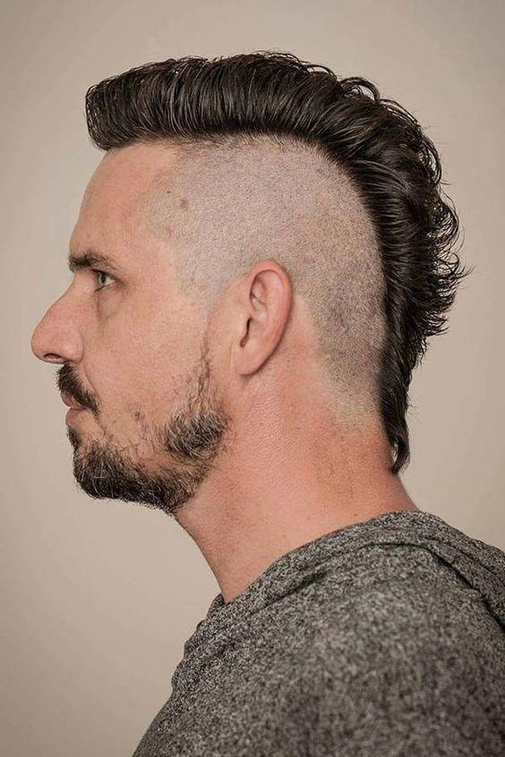 Mohawk Hairstyle Mohawk Hairstyle In 2019 Mohawk Hairstyles