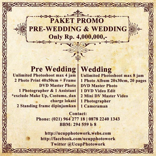 Prewedding - wedding murah jakarta  021-96427718 / 087822401343  ucupphotowork.webs.com