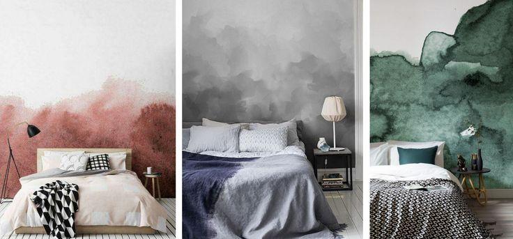 Wnętrza jak akwarele? Rozmyte kolory i ombre na ścianach to zdecydowany hit tego roku! A Ty, który kolor wybierasz?