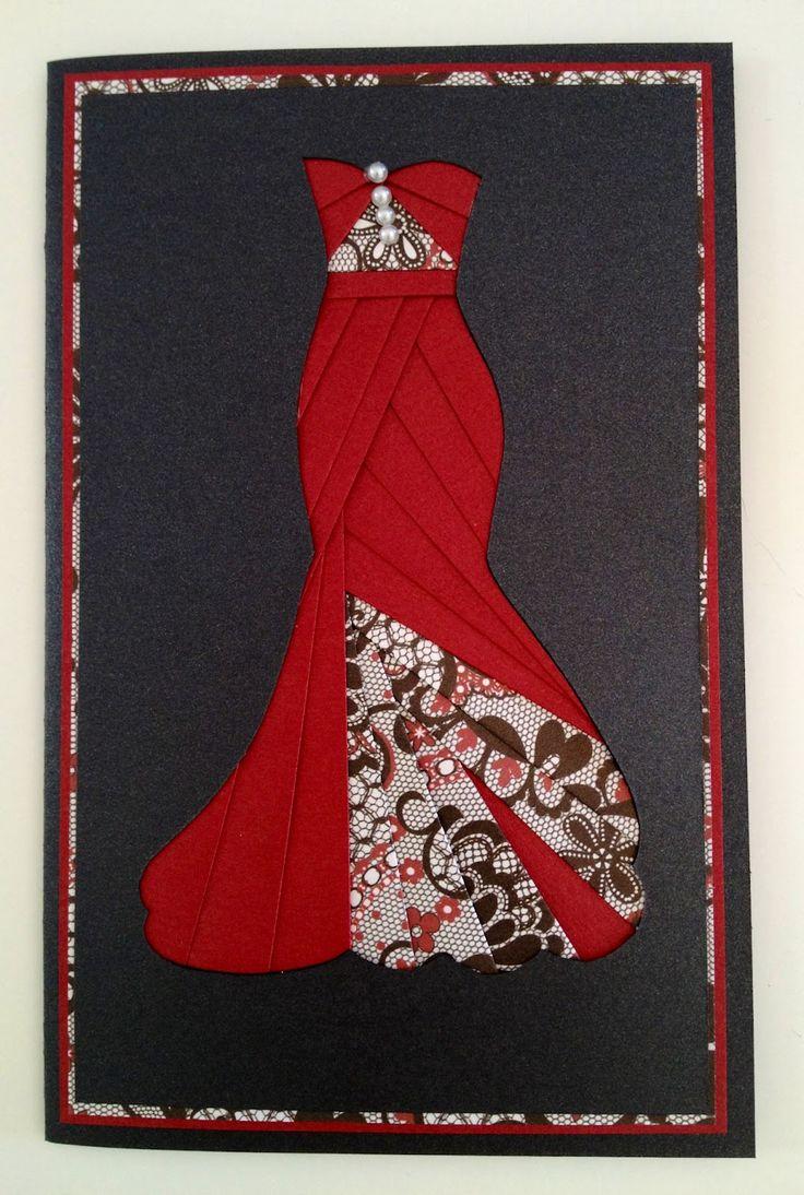 Утро анимация, открытки бумажные платья