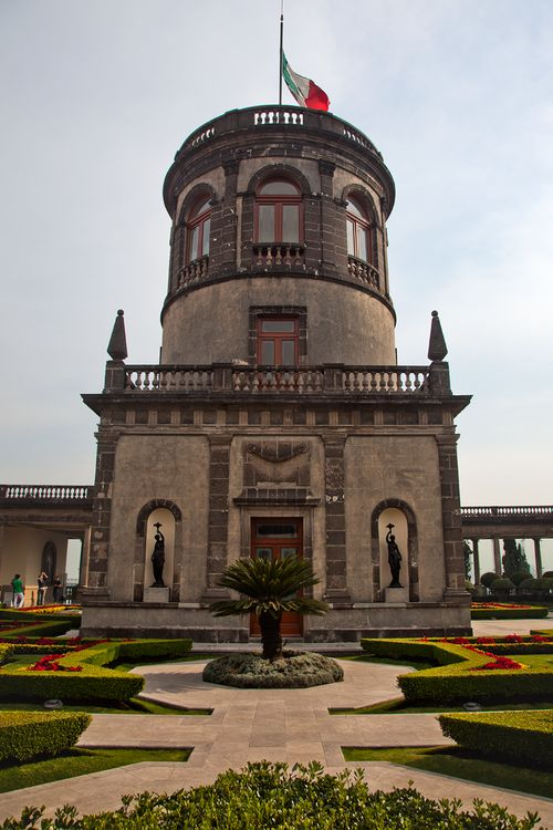 Alcázar del Castillo de Chapultepec . Mexico