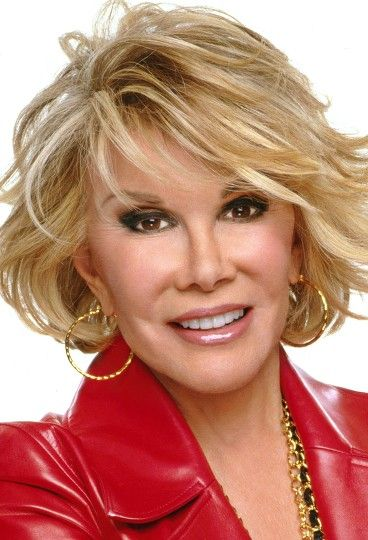 Joan Rivers - Born: Joan Alexandra Molinsky (June 8, 1933 – September 4, 2014 - Age 81), An American comedian, actress, writer, producer, and television host noted for her often controversial comedic persona, where she was alternately self-deprecating or sharply acerbic, especially toward celebrities and politicians. Cause of Death: Cardiac Arrest. #RIP