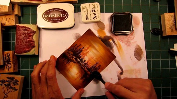 Stampscapes 101: Video 9. Depth Through Value
