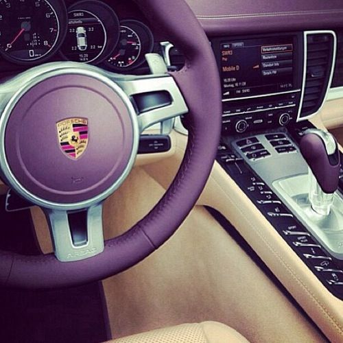 30 best panamera images on pinterest porsche panamera car and purple porsche interior fandeluxe Images