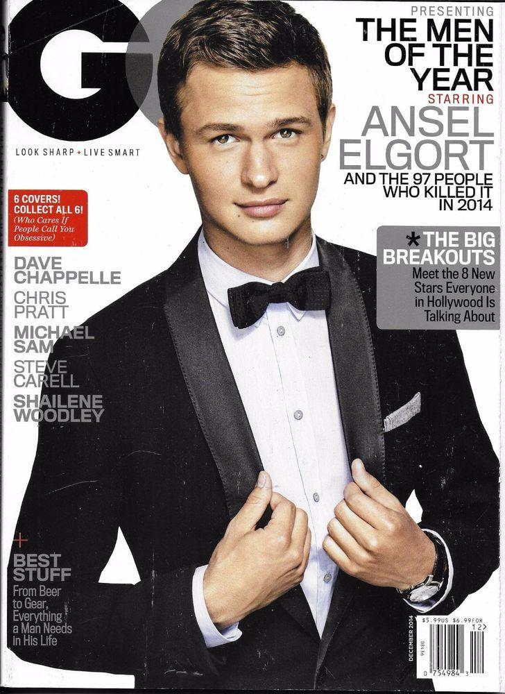 GQ magazine Ansel Elgort Dave Chappelle Chris Pratt Shailene Woodley Michael Sam