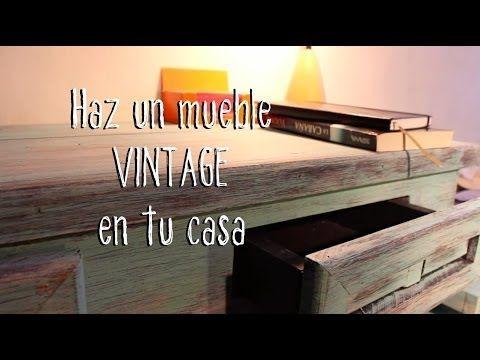 El antes y el después de un dormitorio vintage - http://decoracion2.com/el-antes-y-el-despues-de-un-dormitorio-vintage/ #Antes_Y_Después, #Decoración_Vintage, #Dormitorio_Vintage, #Restauración