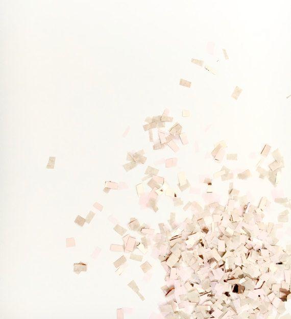 Blush oro rose e Champagne coriandoli decorazione della di pomtree