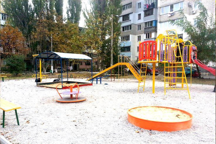 Детская игровой городок Еlephant. Паустовского 17,21,15. Одесса.