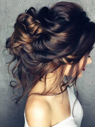 Half-updo, Braids, Chongos Updo Wedding Hairstyles.MagnificentLush,And Sexy.Your Betrothed Eyes Won't Be The Only One Gazing Lovingly And Admiringly At Your Stunning Tresses.