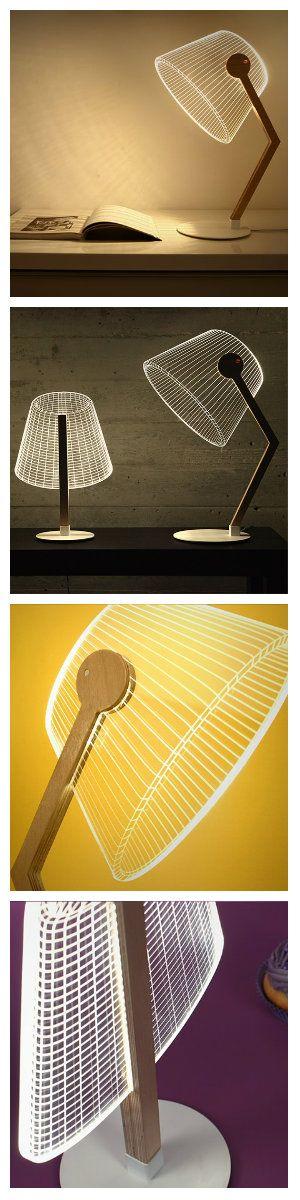 """Студия Cheha начинает проектирование изделий на основе переосмысления взгляда на используемые повседневные предметы. Последним результатом этого нового подхода являются """"выпуклые 2D и 3D светильники"""". Они представлены в трех вариациях и каждое из них создает оптическую иллюзию. Это достигается путём детального химического травления 2D акриловых заготовок. Выглядит невообразимо красиво и просто. светодиоды дизайн света светодиодные светильники"""