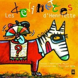 Les devinettes d'Henriette- Ma librairie coup de coeur