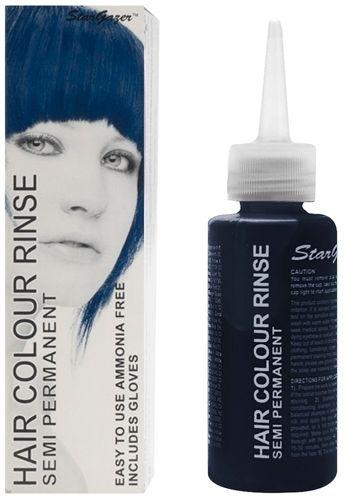coloration stargazer blue black teinture bleue cheveux semi permanente pour une - Coloration Cheveux Semi Permanente