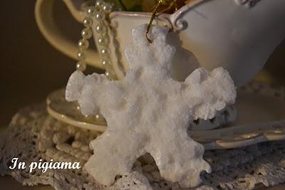Salt decoration for Christmas