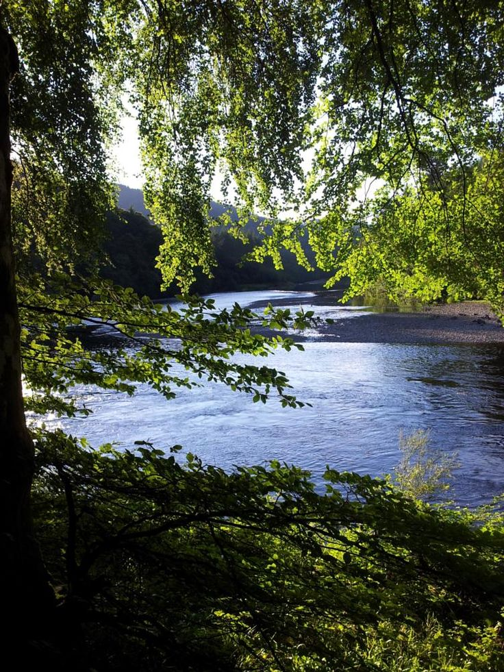 The River Tay near Dunkeld, Scotland by A Place to Retire