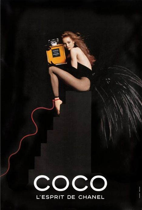One of his best advertising campaigns is undeniably Chanel's Egoïste perfume