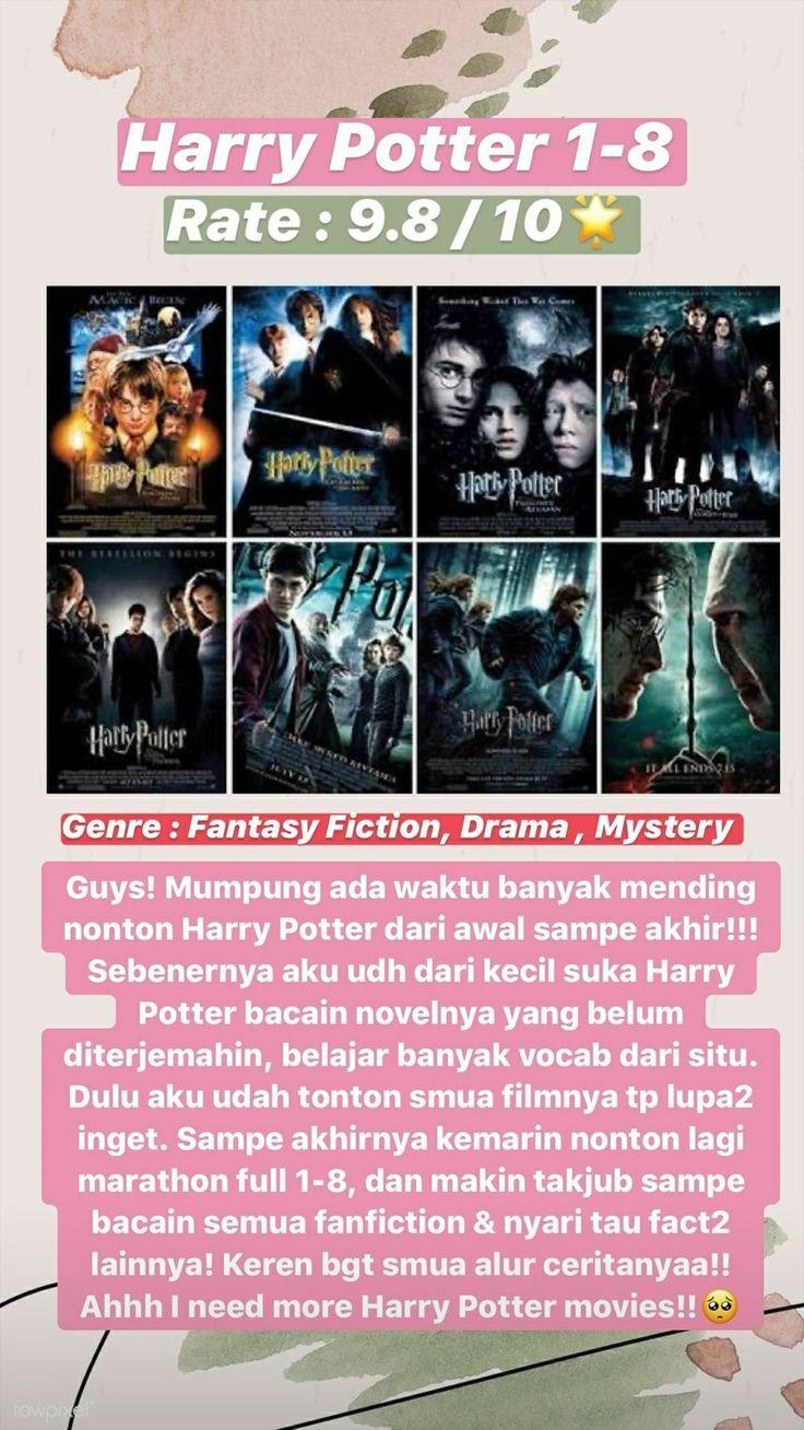 Herry Potter 18 Film Rekomendasi di 2020 Harry potter