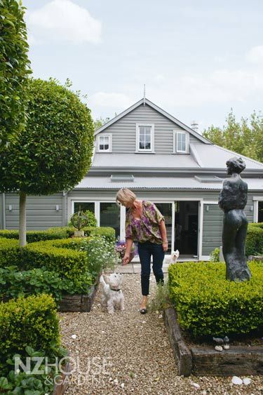 Gould garden, NZ House and Garden