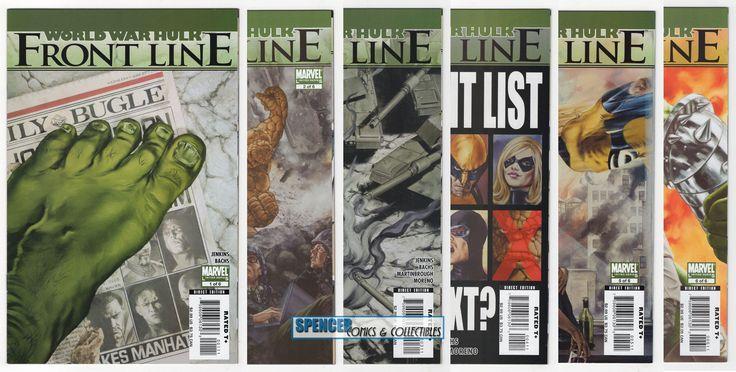 World War Hulk Frontline #1 - #6 Mini Series