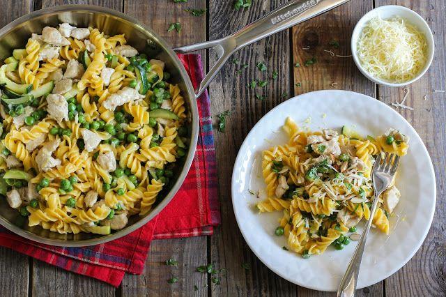 food geek: Паста с индейкой и овощами
